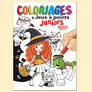 COLORIAGES ET JEUX A POINTS JUNIORS N°5