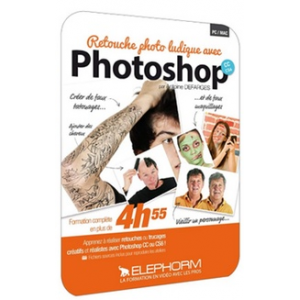 DVD RETOUCHE PHOTO LUDIQUE