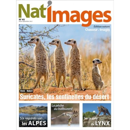 NAT'IMAGES 45 - AOUT/SEPTEMBRE 2017