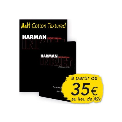 HAR MATT COTTON TEXTURED, 300g, A4
