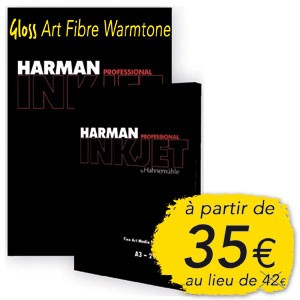 HAR GLOSS ART FIBRE WARMTONE, 300G, A4