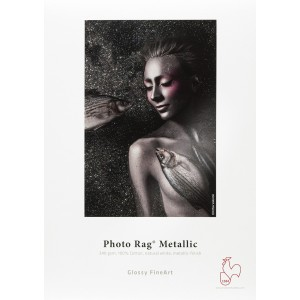 HAH FINEART PHOTO RAG METALLIC, 340G, A3