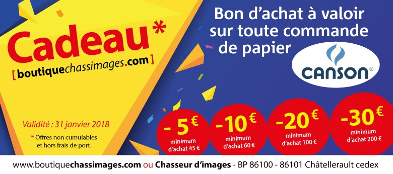 Offre Canson